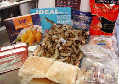 Camarones y Masa de Langosta
